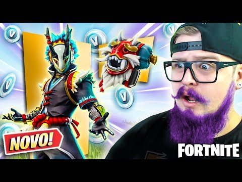 ESSA *NOVA* SKIN É A MAIS CABULOSA DA EPIC GAMES ? - FORTNITE