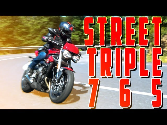 MotorcuBros -Triumph Street Triple 765 Test - Altın Elbiseli Adam ⚡️