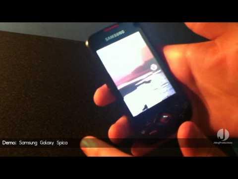 Demostración: Samsung Galaxy Spica