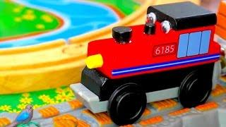 Trains for children - Trevor the Train - Planting trees for kids - Trains for kids