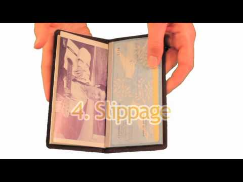Wallet Video: Swiss Checkbook Cover by Big Skinny