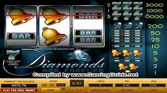 Mayflower Diamonds are Forever 3 Lines CLassic Slot