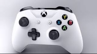 New Xbox One S Wireless Controller Unboxing (White)