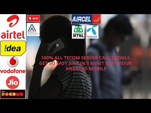 """HOW TO GET FULL CALL DETAILS WITH"""" MUBBLE  APP """" OF ANY  TELECOM SERVICE PROVIDER JUST 1 MINUTE"""