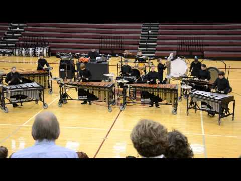 Dripping Springs Middle School Percussion Ensemble 1/25/2014