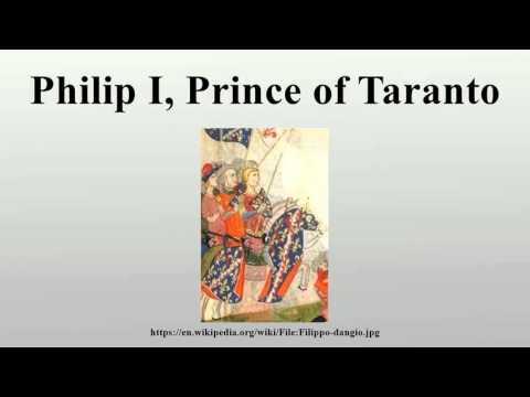 Philip I, Prince of Taranto