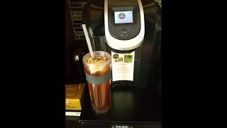 Kuerig 2.0  How To Make Snapple Raspberry Iced Tea