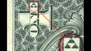 triforce on one dollar bill