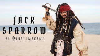 Captain Jack Sparrow Cosplay | Pirates of the Caribbean Costume