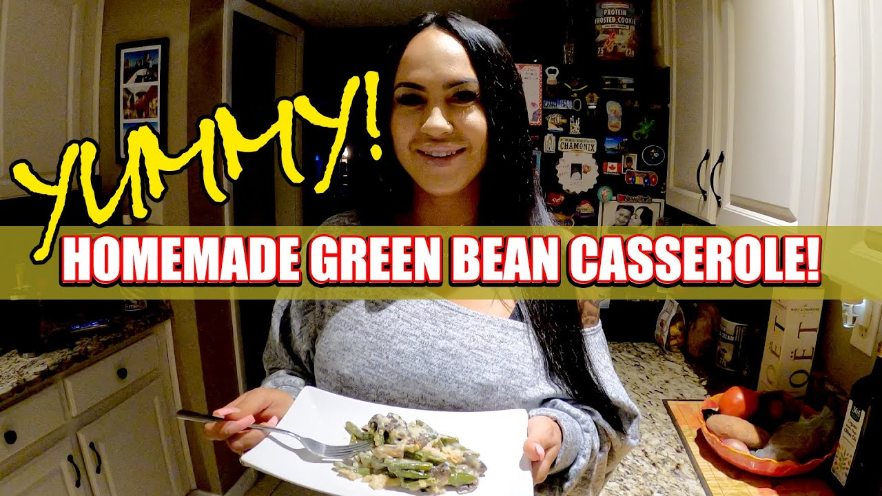 The BEST Homemade GreenBean Casserole Recipe! Easy to Make &  Yummy! How to Cook Thanksgiving Recipe