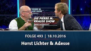 Die Pierre M. Krause Show vom 18.10.2016
