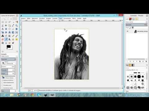 Edição de imagens 13   Inkscape vetorização automatica
