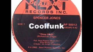 "<b>Spencer Jones</b> - How High (12"" Funk 1982)"