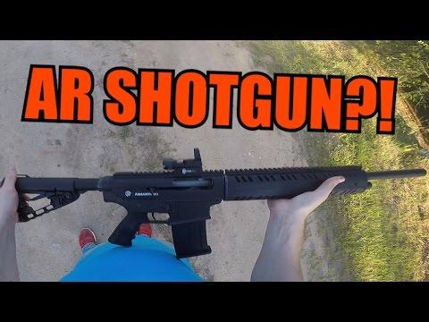 AR-15 Style SHOTGUN! Armagon G12