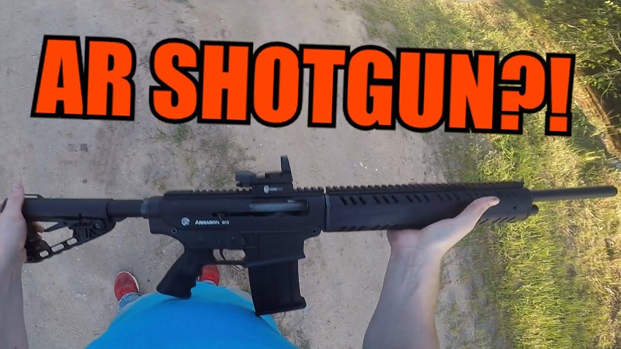 Ar-15 Style Shotgun  Armagon G12