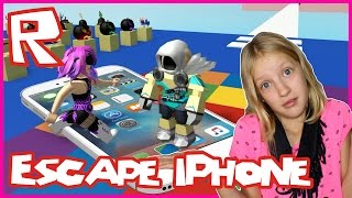 Escape The iPhone 7 OBBY / Roblox