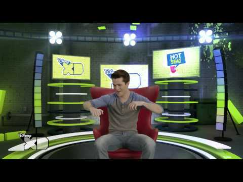 Disney XD Hotseat  Spencer Boldman
