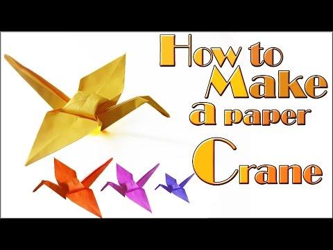 Origami kotobukizuru congratulations crane doovi for How yo make a paper crane