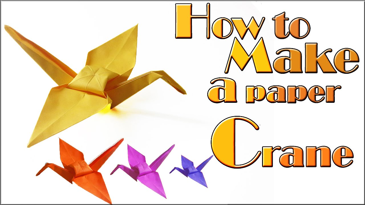 Origami Cranes | International Crane Foundation | 720x1280