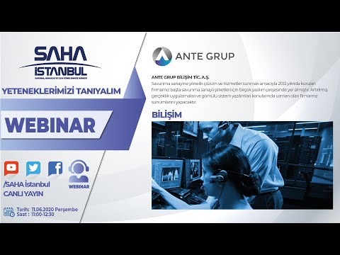 ANTE GRUP BİLİŞİM TİC. A.Ş.
