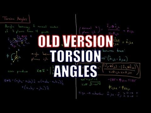 Computational Chemistry - Torsion Angles (Old Version)