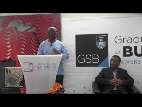 Distinguished Speaker Programme and Book launch - Dikgang Moseneke