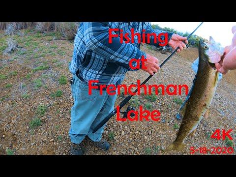 Fishing At Frenchman Lake - 5-18-2020