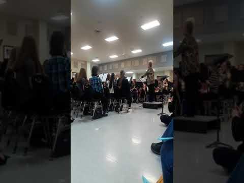 Cabot Junior High South Band- Star Wars- 2/10/2020