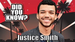 DID YOU KNOW? Justice Smith - 10 Things You Didn't Know