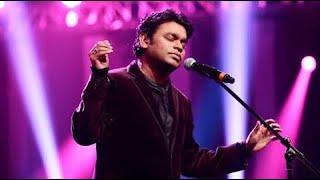 A R rahman singing Enna sona live in concert Mumbai