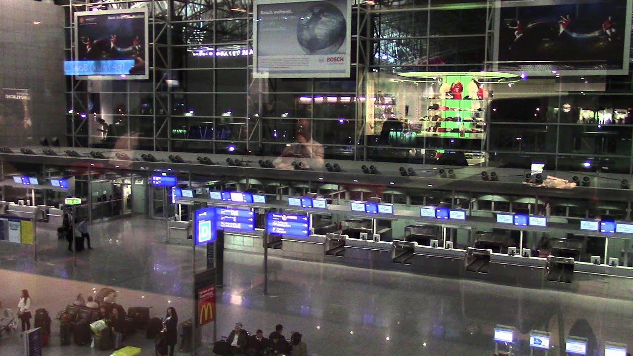 Frankfurt Abflug Terminal 2
