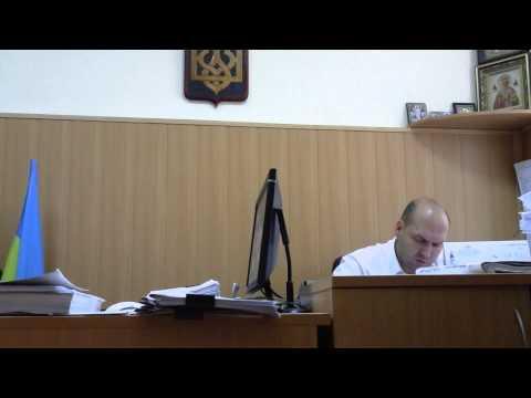Первое заседание в Печерском суде