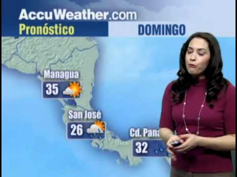 AccuWeather com   Weather Video   Latin American Spanish Forecast