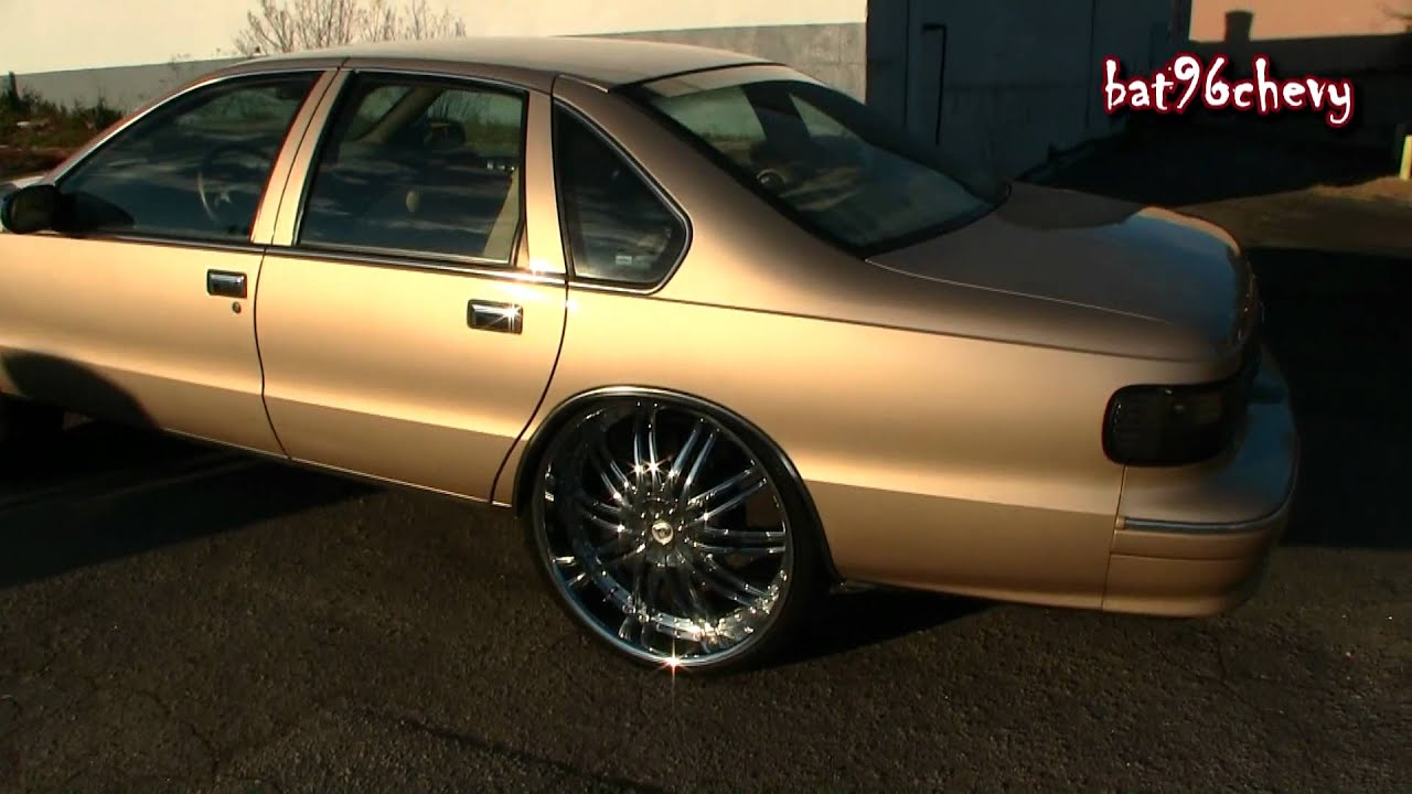 96 Impala Ss On 28 S Amp 96 Caprice On 26 S 1080p Hd Youtube