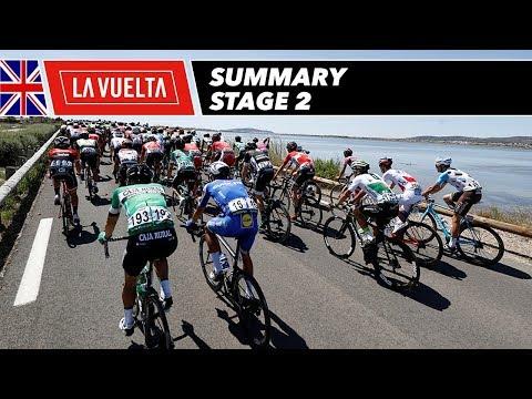 Summary - Stage 2 - La Vuelta 2017