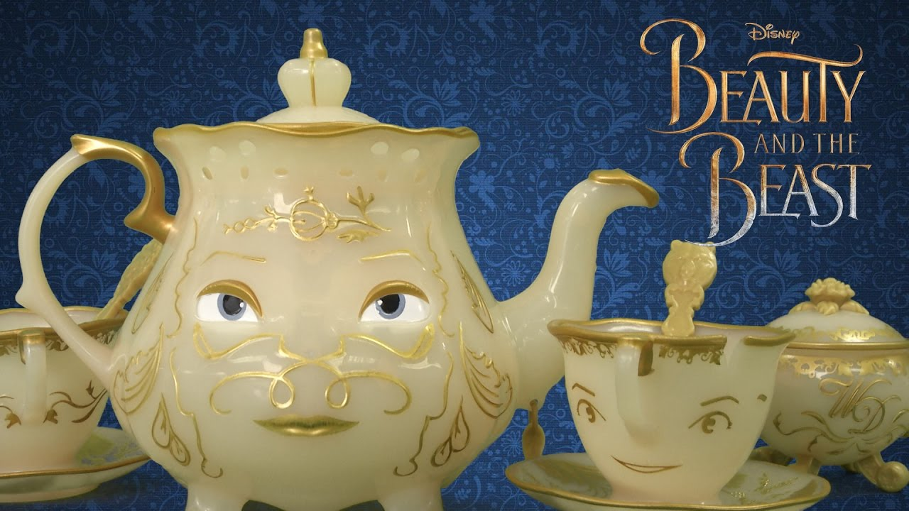 Beauty And The Beast Enchanted Objects Tea Set From Jakks Pacific