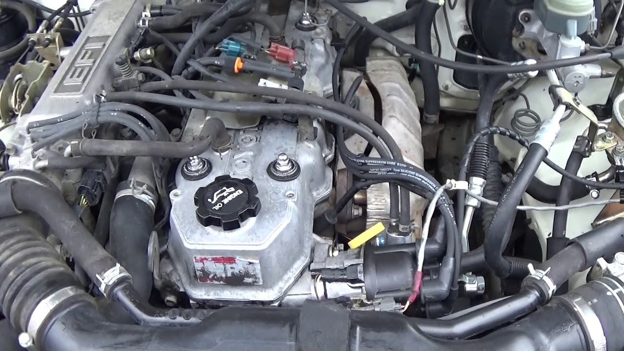 1994 Toyota Pickup 22re Engine Bay Diagram