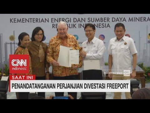 Resmi! Indonesia Ambil 51% Saham Freeport | Penandatanganan Divestasi Freeport
