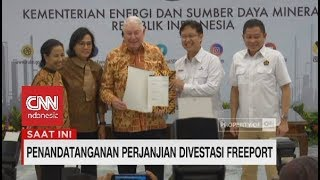Download Video Resmi! Indonesia Ambil 51% Saham Freeport | Penandatanganan Divestasi Freeport MP3 3GP MP4