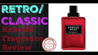 Xeryus Rouge by Givenchy Fragrance Review (1995) | Retro Series