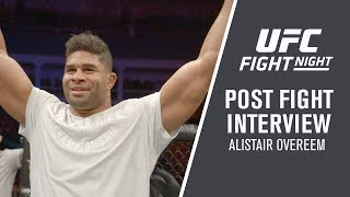 "UFC St. Petersburg: Alistair Overeem - ""I Was Very Relaxed, I Saw Everything Coming"""