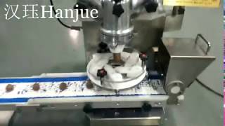 Hanjue HJ-001 Small ball/mochi/arancini/rasgulla making machine for home shop with dusting device