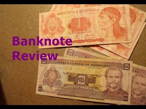 Reviewing Banknotes From Honduras
