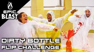 El Dirty Bottle Flip Challenge más extremo | Epic Blast