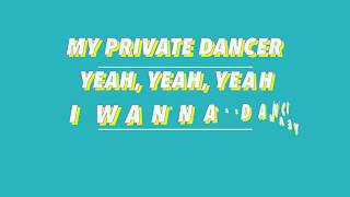 PRIVATE DANCER - Julian Perretta & Feder - (Lyric Video)