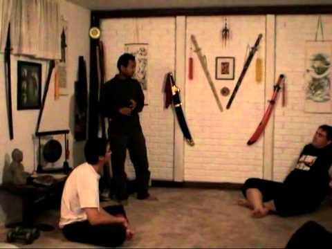 Guru Daniel Prasetya teaching snake motion (part 1)