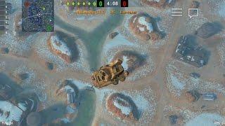 Как научить танк летать!? Баги, нычки и догонялки WOT | World Of Tanks Blitz