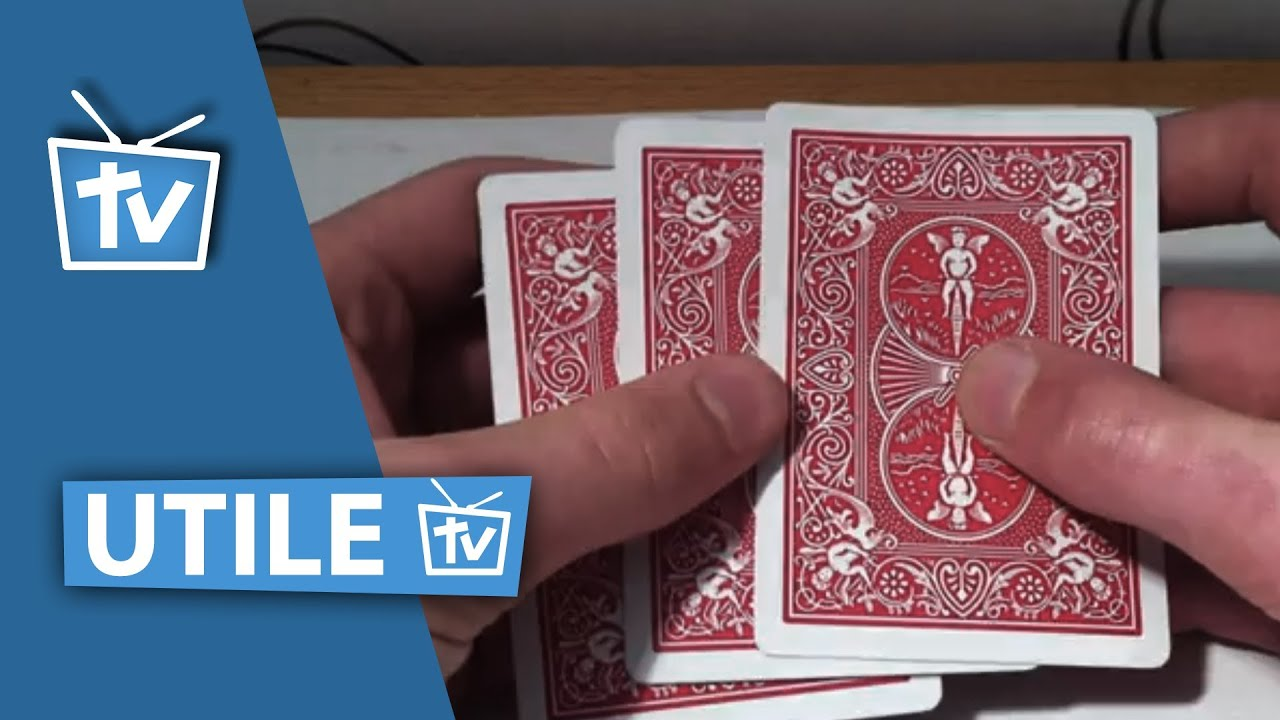 tour de magie 3 cartes