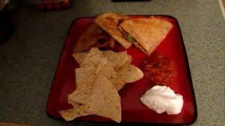 Jen's Steak Quesadillas