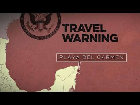 Mexico travel warning linked to warring drug cartels